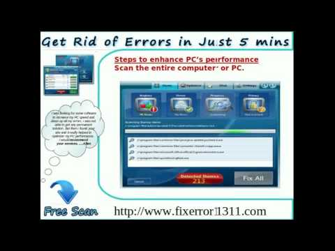 Effective Solution to Fix Error 1311 Permanently