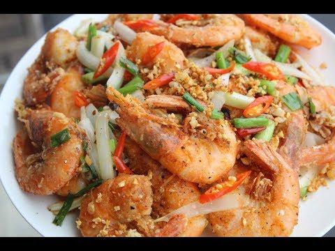 Salt And Pepper Shrimp - Tôm Rang Muối