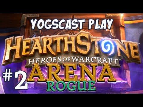 Hearthstone Arena - Rogue Part 2 - Buzzard Bombs