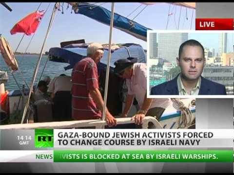 Sail of Hope: 'Show courage, drop Gaza blockade, strike a peace!'