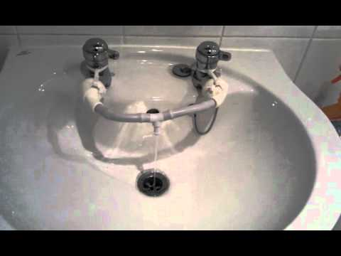 Separate Hot And Cold Tap Solution