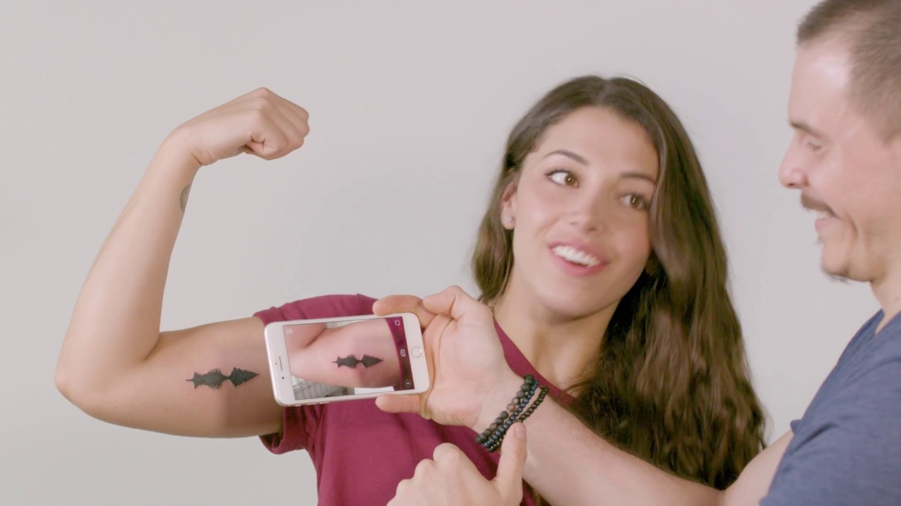 Your memories, your love, your tattoo: Soundwave Tattoos - SOUND TATTOO,  AUDIO TATTOO, AR, APP