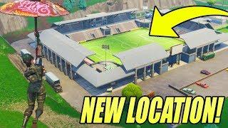 NEW MAP LOCATION IN FORTNITE! (NEW SOCCER STADIUM)