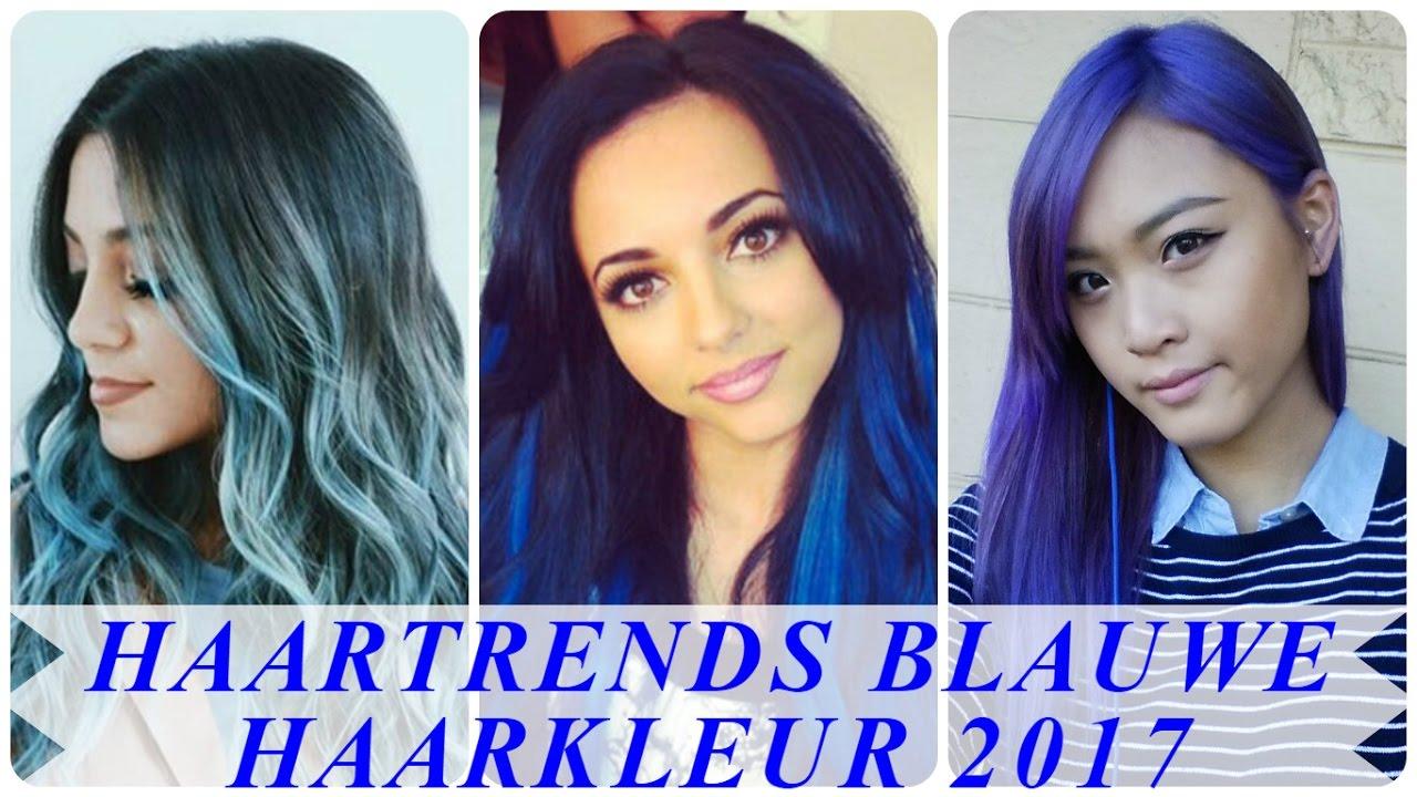 Haartrends Blauwe Haarkleur 2017