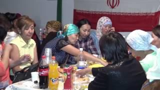 13-день ифтара в Шатре Рамадана. Исламская Республика Иран.