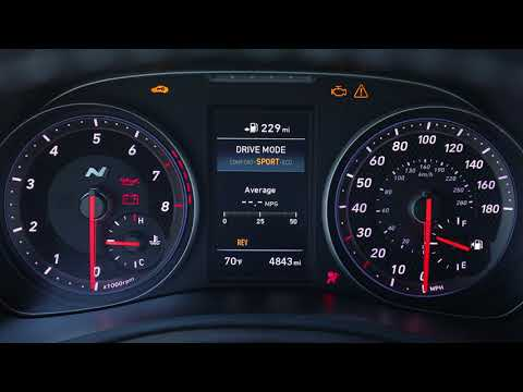 2019 Hyundai Veloster N 275hp Interior