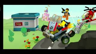 LEGO DRIVING | FIRE ENGINE | car | Police car | Truck | Helicopter | GAME  | cartoon | toys
