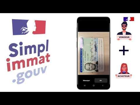 Tutoriel pour utiliser l'application #Simplimmat !