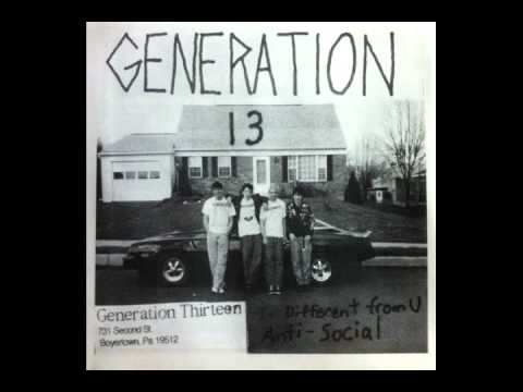 Generation 13 - I'm Different From You