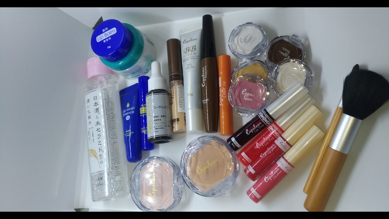 First Impressions: *New* Daiso Skincare & Espoleur Cosmetics (Daiso's own brand)