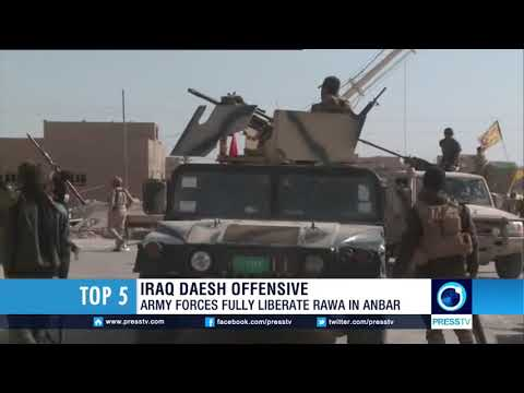 Iraqi army fully liberates Rawa in Anbar