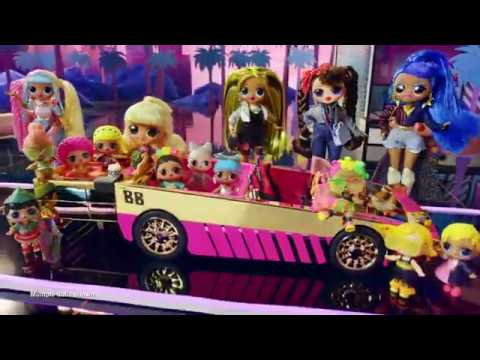 L O L  Surprise! Car Pool Coupe With Exclusive Doll