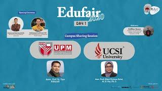 Dewan Edufair PPI Malaysia - UPM \\u0026 UCSI University