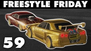 Freestyle Friday 59 | Nissan Skyline & Dodge Charger (Rocket League)