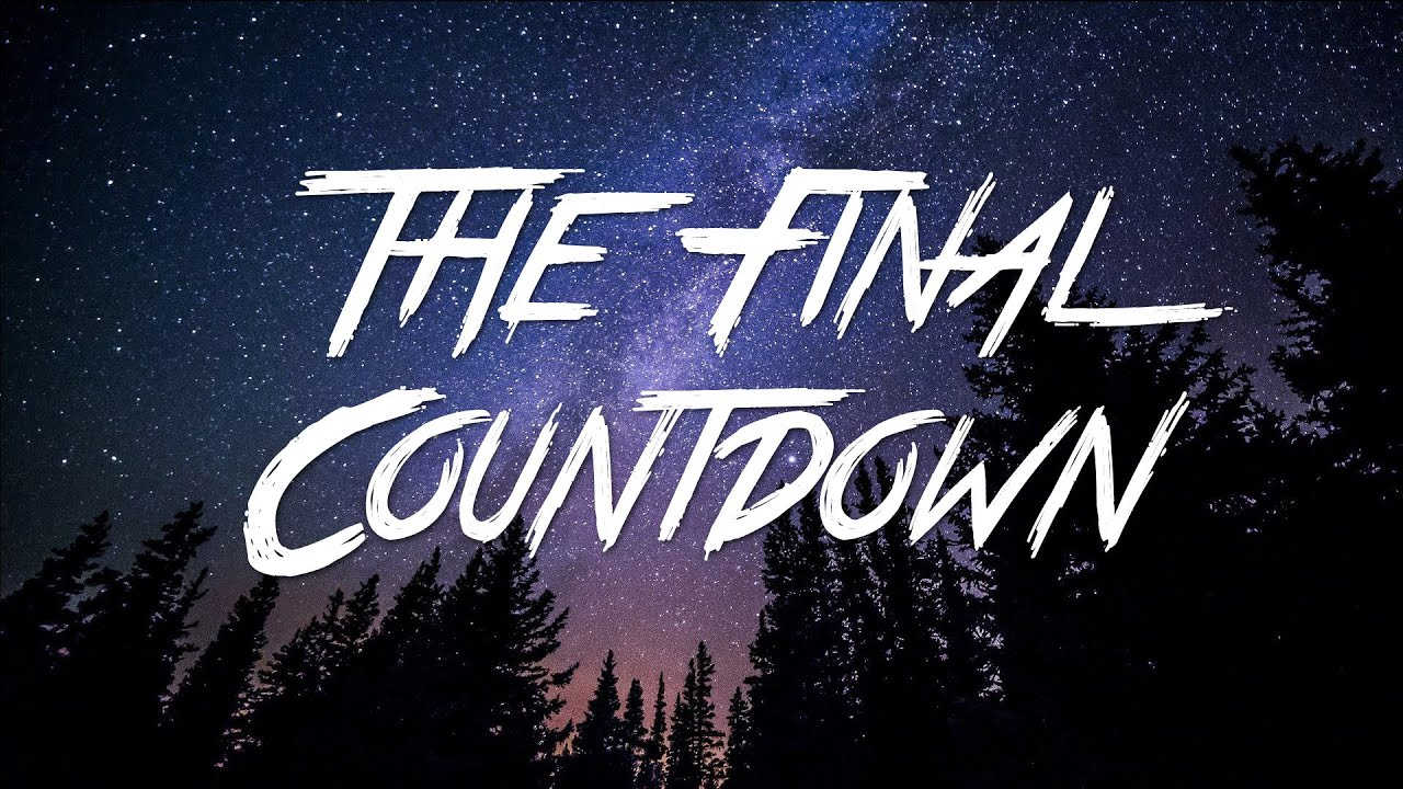 Download The Final Countdown - Europe (Lyrics) [HD]