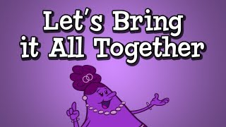 """Conjunction Song from Grammaropolis - """"Let's Bring It All Together"""""""