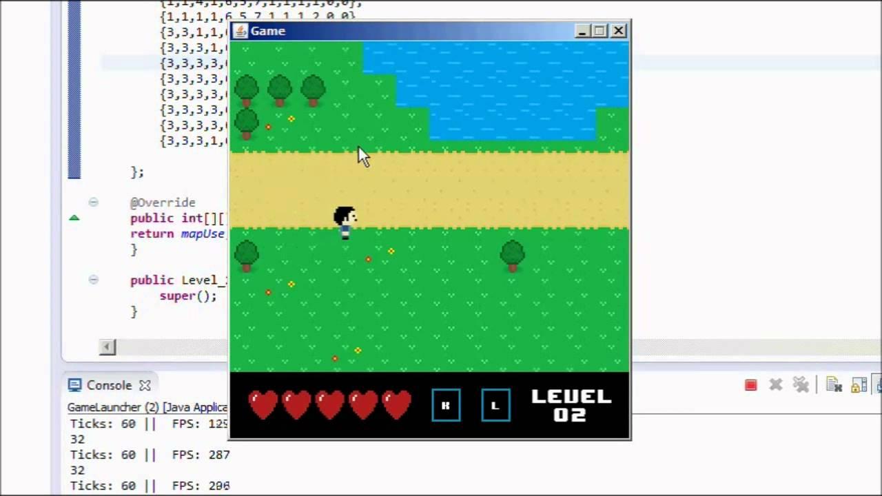 2d java game engine #1: game loop youtube.