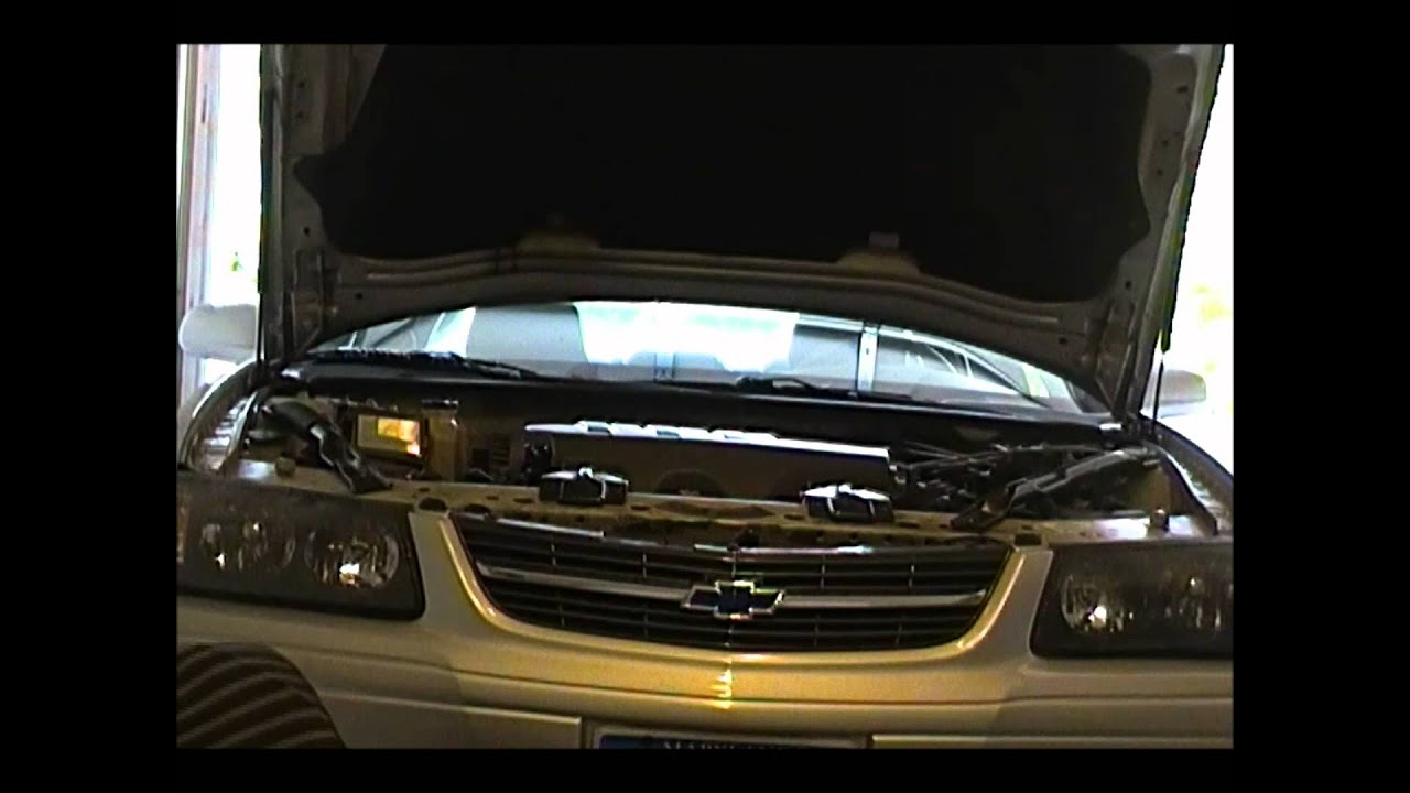 transmission fluid change 2004 chevy impala that had an overheating problem due to low coolant [ 1280 x 720 Pixel ]