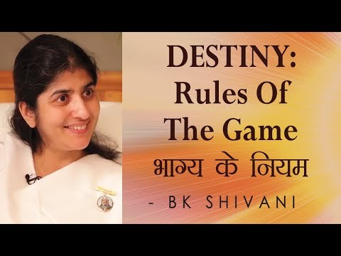 DESTINY - Rules Of The Game: Ep 24 Soul Reflections: BK Shivani (English Subtitles)