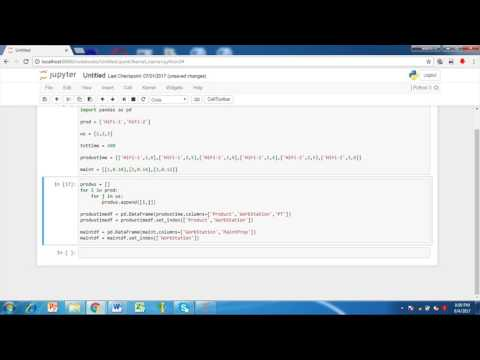 Operations research tutorial #3 Part 05: Product mix problem variant 04