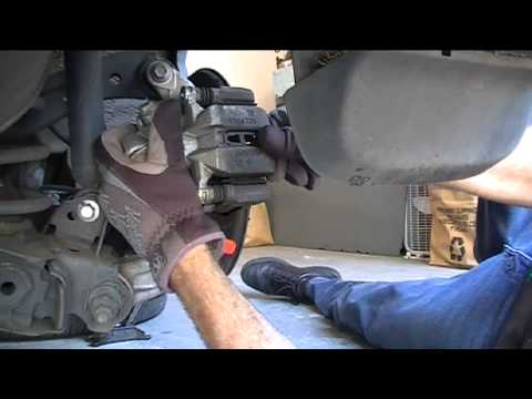 2008 Honda Civic Rear Disc Brake Pad Service Youtube