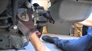 2008 Honda Civic Rear Disc Brake Pad Service(This week we revisit the 2008 Honda Civic to install new rear disc brake pads. If you need help with the front brake pads on this car, check out this video: ..., 2012-10-07T04:13:52.000Z)