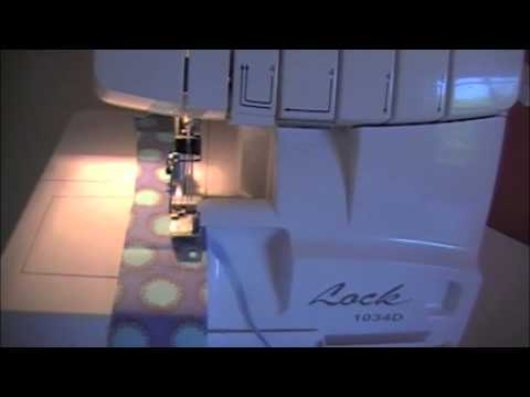 Raechel Myers Sewing A Rolled Hem With A Serger YouTube Gorgeous Myers Sewing Machine