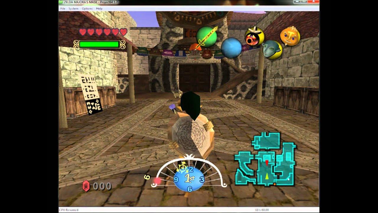 N64 Pack roms zelda ocarina Of Time master Quest en español