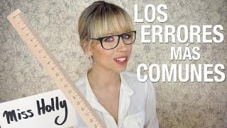 Tips to improve your ENGLISH (explained in Spanish) | Superholly
