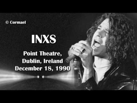 Michael Hutchence & INXS    Dublin, Ireland 1990 18/12