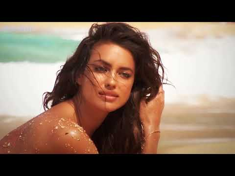 Irina Shayk charming model with a collection of swimwear (Remix) 4K UHD