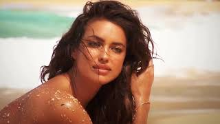 Irina Shayk charming model with a collection of swimwear (Re...