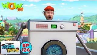 Chacha bana washing machine | Chacha Bhatija | Kids Cartoon Show | Wow Kidz