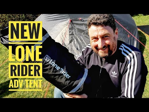 New LONE RIDER ADV TENT Review