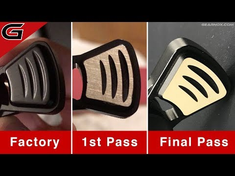 Mirror Polishing Brass | Black Very Dapper Fidget Spinner | How To - DIY