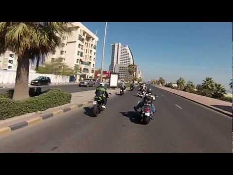 Kuwait Riders 3rd annual bike show