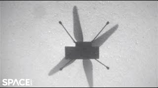 Ingenuity's 7th flight on Mars! Extended cut from helicopter's view