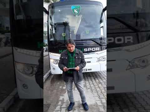 Kocaelispor'umuz, Fethiyede maç saatini bekliyor 18.01.2020 | Yiğit Özcan'la Mikrofonlarımız İsmetpaşa'da