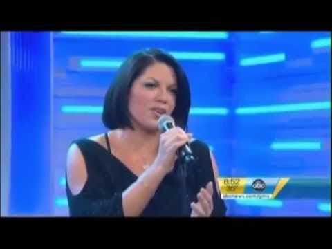 "Sara Ramirez sings ""the story"" | Live at GMA (2011)"