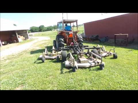 Land Pride AFM40168 batwing finish mower for sale | no-reserve Internet  auction July 5, 2017
