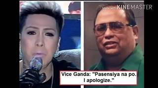 LOOK VICE GANDA FINALLY HUMINGI NA NG TAWAD