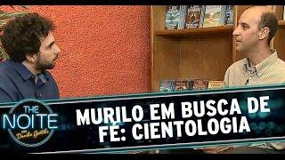 The Noite (23/12/14) - Murilo Couto em busca da fé: Cientologia