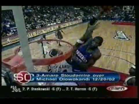 Top 10 Dunks from First Half of 2003 NBA Season