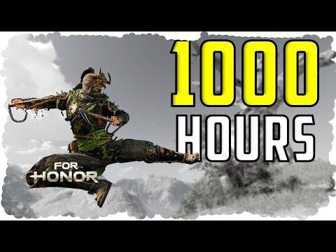 What 1000 HOURS of Shinobi EXPERIENCE Looks Like - For Honor