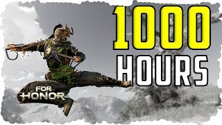 What 1000 HOURS of Shinobi EXPERIENCE Looks Like - For Honor