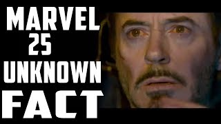 Marvel 25 Unknown Facts In Hindi || Avengers 4,X-Men ||
