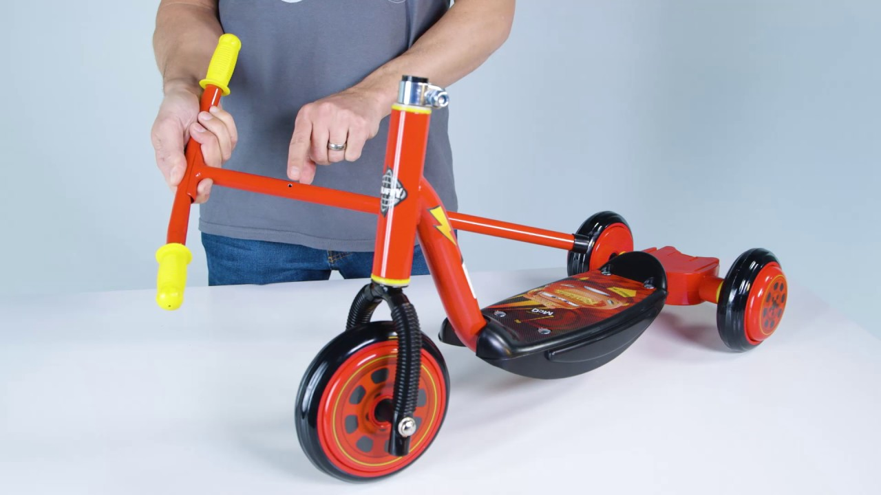 Assembly Of Bubble Fun 3 Wheel Scooter