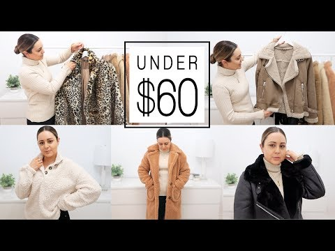 HUGE WINTER 2019 TRY ON - Affordable Coat, Jacket & Sweater Haul!