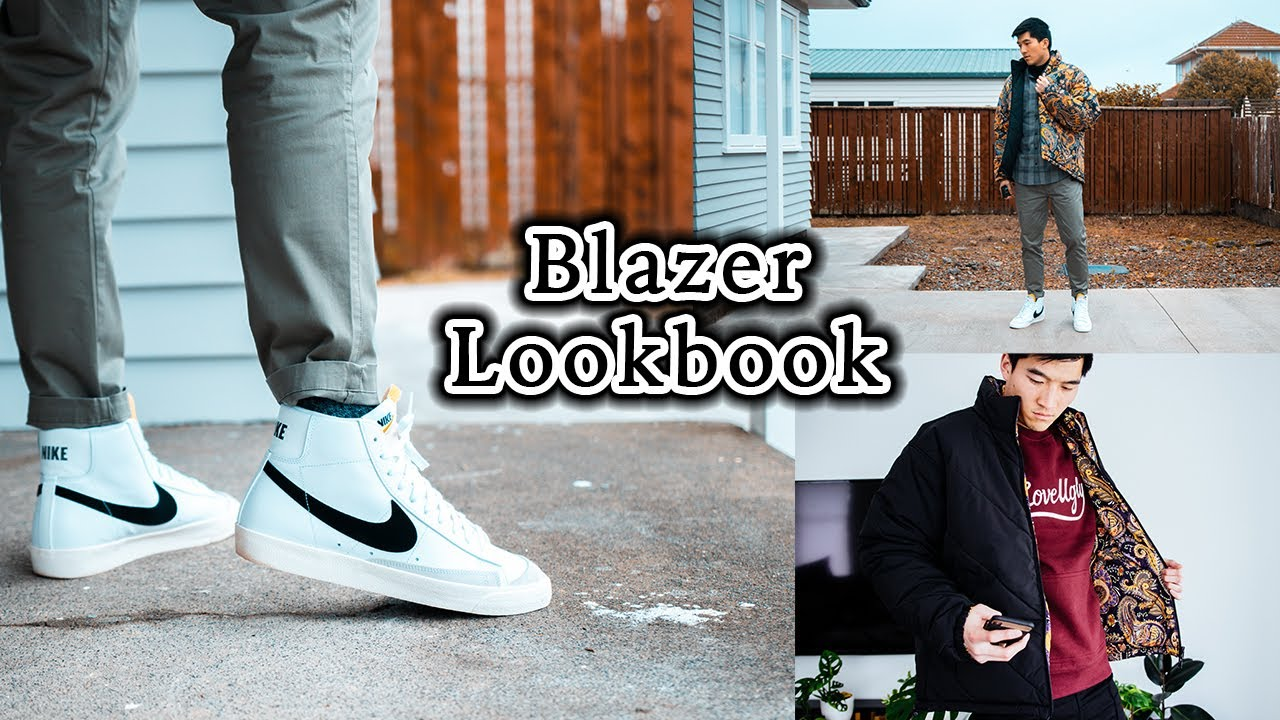 Refinamiento Venta anticipada Colgar  Nike Blazer Outfit Ideas (How to Style Blazers in 2020) Ft. I Love Ugly  Lookbook - YouTube