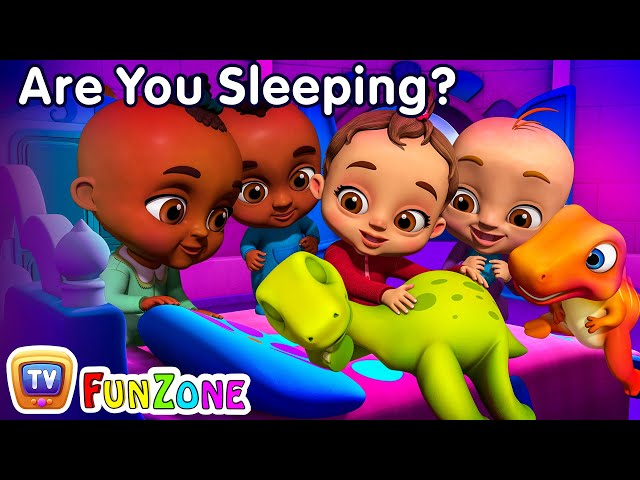 Are You Sleeping? (Dino) | Baby Songs & Dinosaur Rhymes for Kids | ChuChu TV 3D Nursery Rhymes